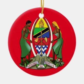 Tanzania*のクリスマスのオーナメント セラミックオーナメント
