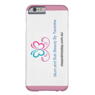 Taominxの電話箱によるミイラそしてBubの美しい Barely There iPhone 6 ケース