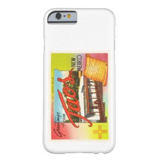 TaosニューメキシコNMの古いヴィンテージ旅行記念品 Barely There iPhone 6 ケース