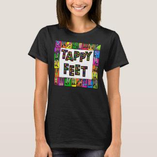 Tappyの足-タップダンスのTシャツ Tシャツ