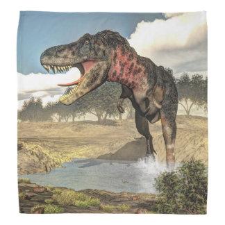 Tarbosaurusの恐竜- 3Dは描写します バンダナ