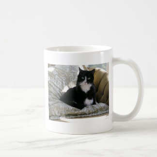 Tashaタキシード猫 コーヒーマグカップ