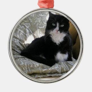 Tashaタキシード猫 メタルオーナメント