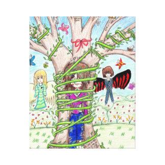 Tasha著描かれるファンタジーの写真 キャンバスプリント