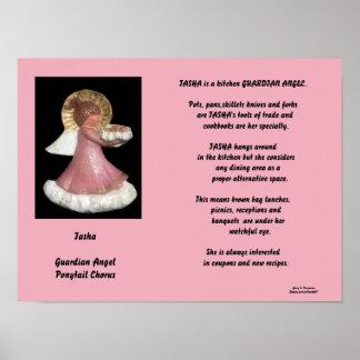 TASHA-GUARDIANの天使のポニーテールのコーラスポスター ポスター