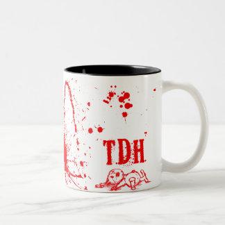 Tasseのj'aime leはTDHを歌いました ツートーンマグカップ