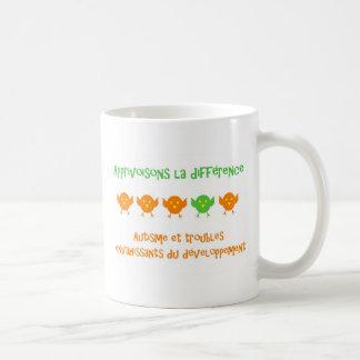 Tasse Apprivoisonsのlaのdifférence コーヒーマグカップ