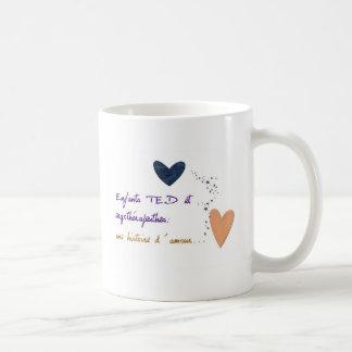 Tasse Enfantsテッドとそれゆえに コーヒーマグカップ