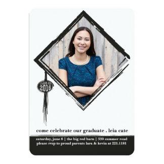 Tassleの卒業の招待状 カード