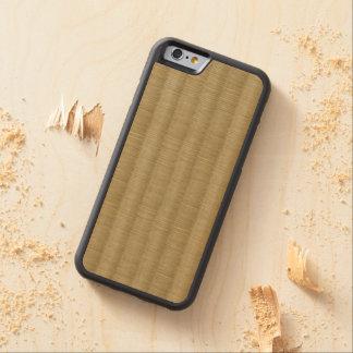 Tatamiマットの畳2 CarvedメープルiPhone 6バンパーケース