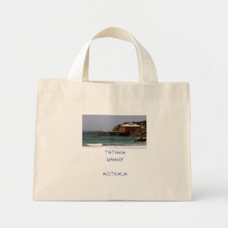 TATHRAの波止場のキャンバスのバッグ ミニトートバッグ