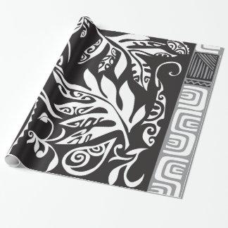 """Tatouの光沢のある包装紙、30"""" x6 ラッピングペーパー"""