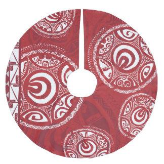 Tatou IIIのクリスマスツリーのスカート ブラッシュドポリエステルツリースカート