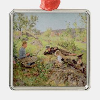 Tatoy 1883年、羊飼い メタルオーナメント