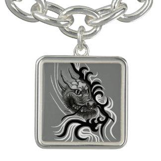 Tattoostyleの中国のドラゴン チャームブレスレット