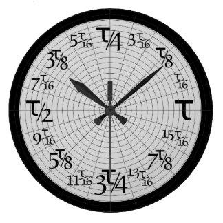 Tauの倍数 ラージ壁時計
