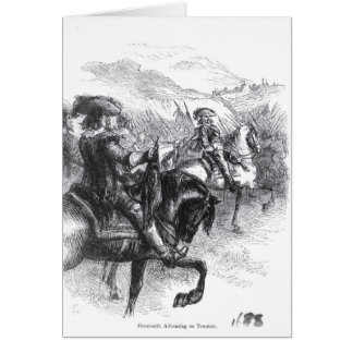Tauntonで進んでいるMonmouthの公爵 カード