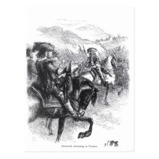 Tauntonで進んでいるMonmouthの公爵 ポストカード