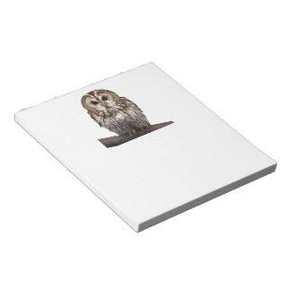 Tawny Owl ノートパッド
