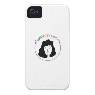 TaxMamaのブラックベリーの箱 Case-Mate iPhone 4 ケース