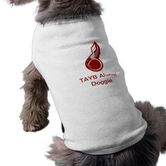 TAYBの卒業生の小犬のワイシャツ ペット服