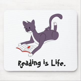 Tazの読書 マウスパッド