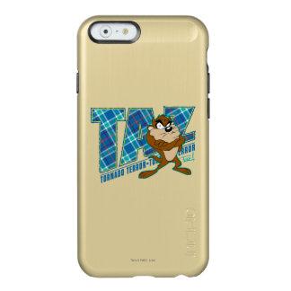 TAZ™のトルネード恐怖の格子縞 INCIPIO FEATHER SHINE iPhone 6ケース