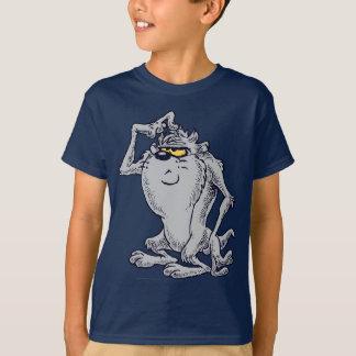TAZ™の考えるで芸術的なデザイン Tシャツ