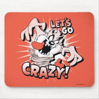 """TAZ™は""""熱狂するに行こう!"""" 明暗中間部 マウスパッド"""