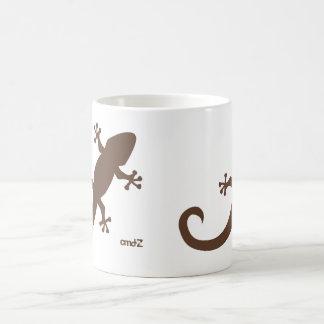 Tazaのヤモリ コーヒーマグカップ