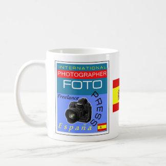 Taza -マグ-スペイン- Intlのカメラマン コーヒーマグカップ