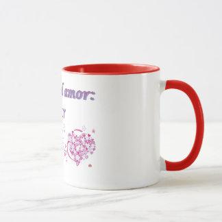 Taza en dosのcolores マグカップ