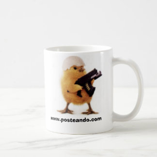 Taza posteando.com コーヒーマグカップ