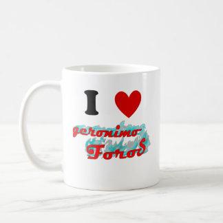 Tazas: Geronimo Foros コーヒーマグカップ