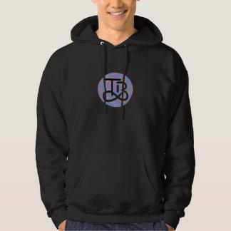 TBのロゴの渦巻のフード付きスウェットシャツ パーカ