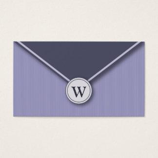 {TBA}タマキビのモノグラムの封筒の名刺 名刺