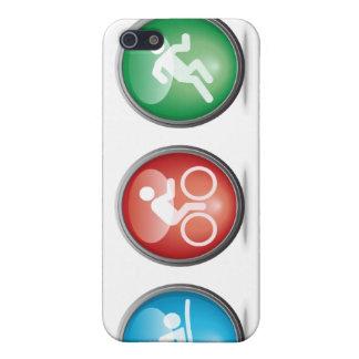 {TBA}トライアスロンによって水泳バイク走られるiphone 4ケース iPhone 5 カバー