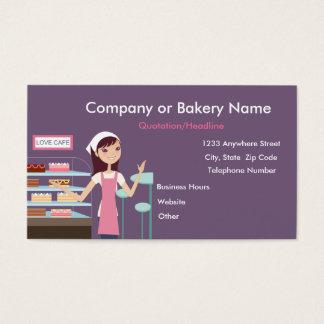 {TBA}ベーカリーか洋菓子屋#2の名刺 名刺