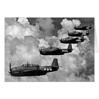 TBFの報復者の魚雷の爆撃機 カード