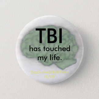 """""""TBI私の生命""""にボタン触れました 5.7CM 丸型バッジ"""