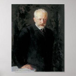 Tchaikovskyのポートレート ポスター