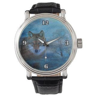 TCWC -青いオオカミのクリスマス 腕時計