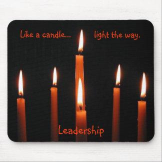 tdgallery -リーダーシップのmousepadによる蝋燭 マウスパッド