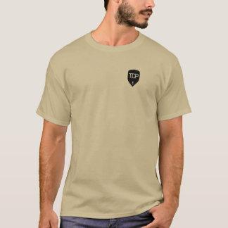 TDP -ブラウンのTシャツ-本そしてひびをの…つかんで下さい Tシャツ