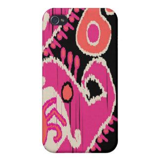 TDStudio著ウズベク族のイカット iPhone 4 カバー