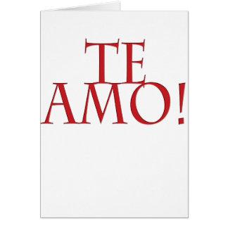 Te Amo カード