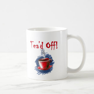 Tea'd、税日のお茶会のマグ コーヒーマグカップ