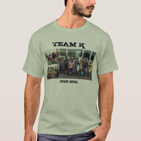 TEAM K Tシャツ
