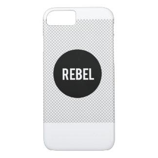TeamREBELのiPhone 7の場合は透明な背景に会いました iPhone 8/7ケース