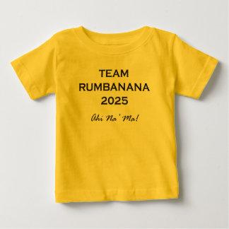 TeamRumbananaベビー ベビーTシャツ